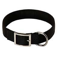 Lightweight 2 Ply Nylon Siberian Husky Collar for Dog Walking, Training