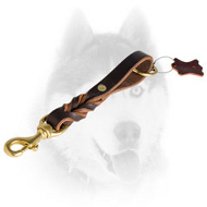 Braided Short Siberian Husky Leash