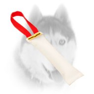 Dog Training Fire Hose Bite Tug With Handle for Siberian Husky