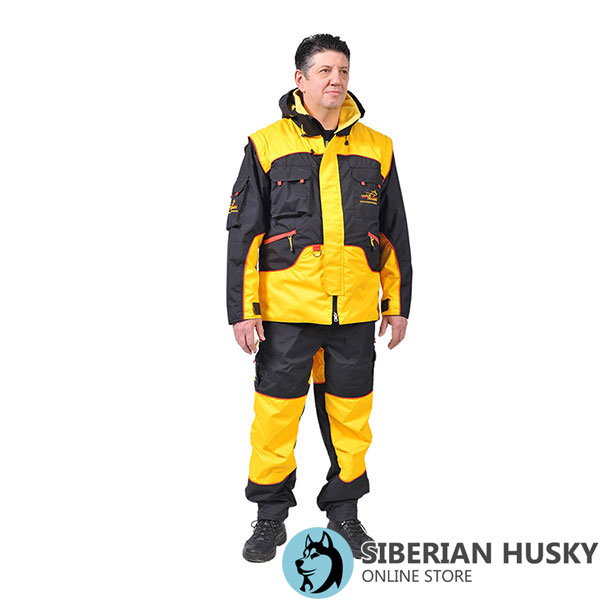 Bite Suit of Waterproof Membrane Material for Training