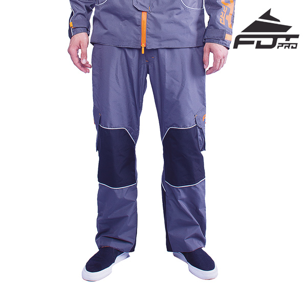 FDT Pro Pants of Grey Color for Any Weather Conditions