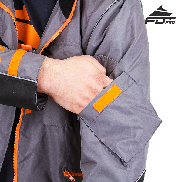 Reliable Sleeve Pocket on Professional Design Dog Trainer Jacket