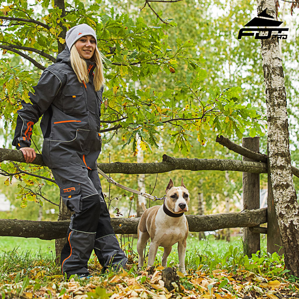 Comfortable Back Pockets on Men and Women Design Pants for Active Dog Trainers