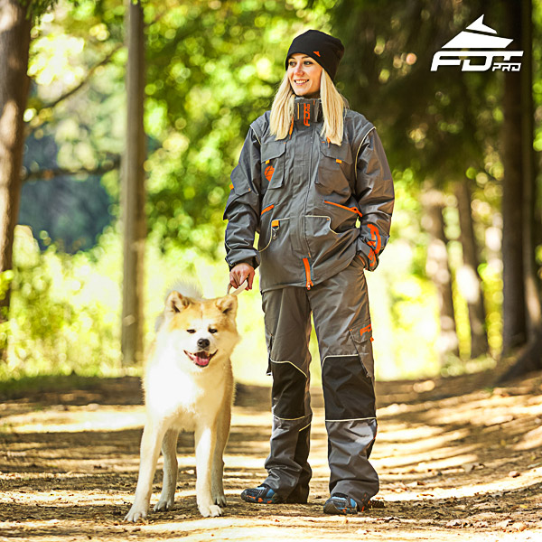 Men / Women Design Dog Trainer Jacket of High Quality Materials
