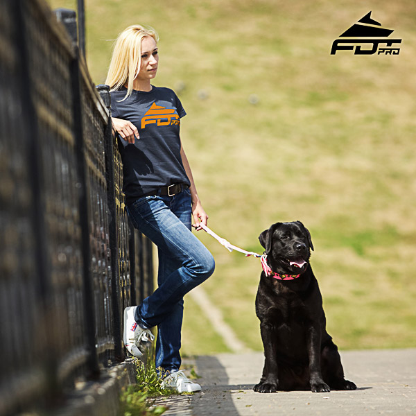 Dog Trainers Women T-shirt of Top Quality Cotton