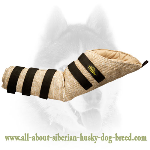 Hidden Protection Jute Hidden Protection Siberian Husky Bite Sleeve for Training