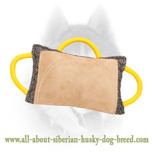 Extra Strong Siberian Husky Bite Pad for Advanced Bite Training