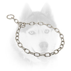 Strong Siberian Husky Metal Fur Saver