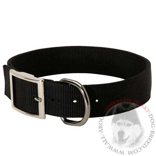 Siberian Husky Collar Strong All-Weather Breathable