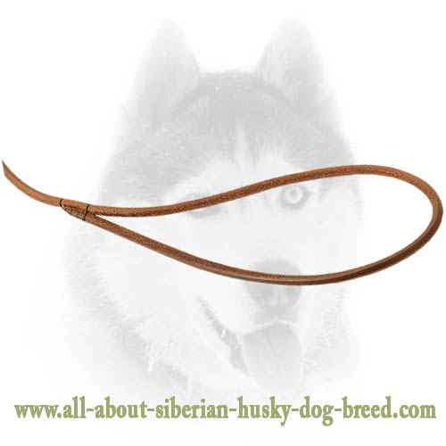 Soft round shape leash