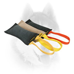 Siberian Husky Bite Tug with Convenient Handle