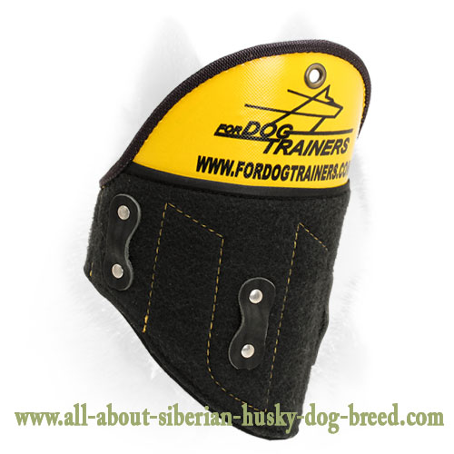 Removable Bite Sleeve Shoulder Protector for Siberian Husky Training