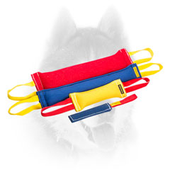 French Linen training bite tugs for effective training your Siberian Husky